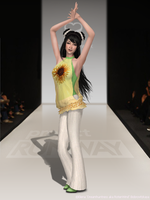 project RUNWAY _round 1_ by Dreamhuntress-sims