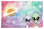 intergalactic buddies by YuriBeltran