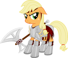 AJ in armor by Farminilla