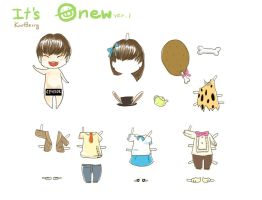 It is Onew ver.1 by KnotBerry