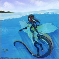 [CM] Beneath the Waves by NeonRaptor