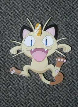 Meowth by demonXeyes