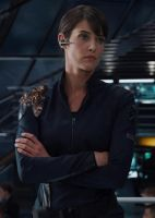 Maria Hill and Her Daemon by LJ-Todd