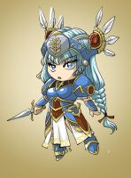 Chibi Lenneth by glance-reviver