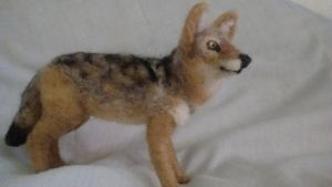 Needle Felted Coyote by Coyote-Pro