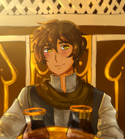 APHOC: A drink? by SPINNY-chair-HERO