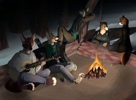 The Camp Fire Song Song by Owl-Flight