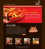 Rofi website design Option 2 by beshoywilliam
