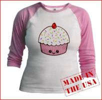 Cuppy cake tee by The-Cute-Storm