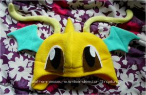 Dragonite Hat by SmileAndLead