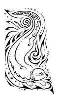 Otter Tattoo Design by twapa