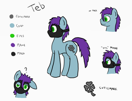 Reference Teb by HappyDeadPony