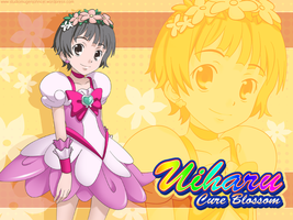 Uiharu Cure Cosplay by mugenjohncel