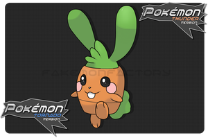 Jolly Carrot Pokemon by harikenn