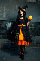Halloween Lolita Witch 4 by Enolla