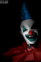 clown by oh-my-goth