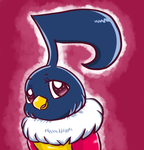 Shiny Chatot Avatar- comission by PlatinaSena