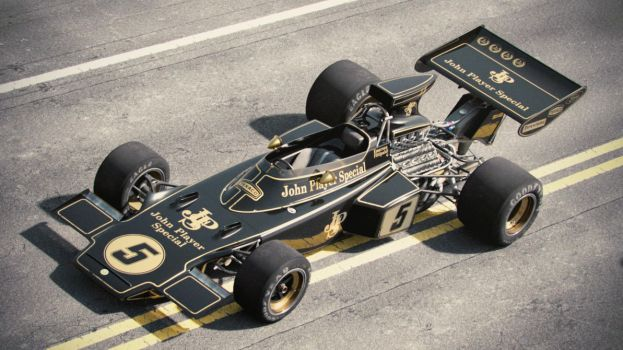 Lotus 72D 1 (Film Series) by Laffonte
