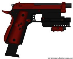 Tiko Falcon Firebrid Model 88 pistol by HuntraG94