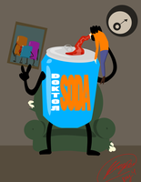Cheese - Day 4 - (Inanimate Object Coming to Life) by TicksBigClock