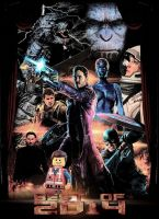 Best of 2014 Poster by GeekTruth64