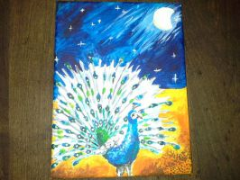 The Night Peacock by ChibiWendy