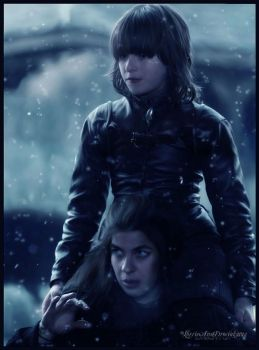 Osha And Bran Stark : Game of Thrones by RottonNymph