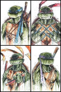 TMNT Saucy 2013 by RobDuenas