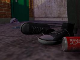 Alley render - all star shoes by Pdk-almeida