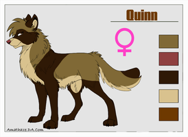 Quinn new reference by DarkChocaholic