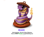 Pokemon - Ekans by Cryptid-Creations