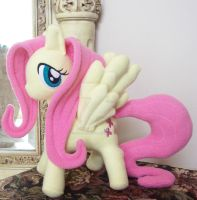 Fluttershy Custom Plush by ponypassions