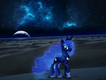 The moon rises [PIRL] by colorfulBrony