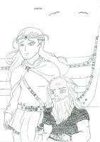 Contest entry  Farewell Middle Earth by goodwinfangirl