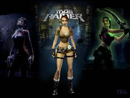 Tombraider Wallpaper Mix by madam-lara-croft