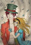 Alice x Mad Hatter by csicsus