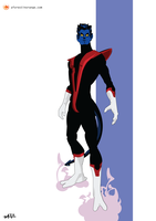 Nightcrawler (X-Men) by FeydRautha81