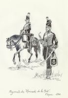 French Hussar of the Death - 1793-94 by Stcyr74