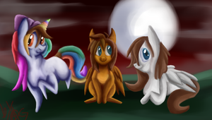 CO: the 3 pons by skullkidwolfdemon