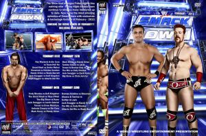 WWE SmackDown February 2013 DVD Cover by Chirantha