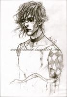 IAMX - The stupid - Sketch by Lehanan