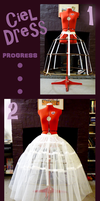 Ciel Dress Progress by SKOpseudonym