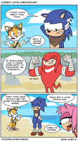 Sonic Boom Comic by Doodley