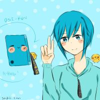 DSI-kun by Shikii-tan