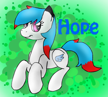 OC Hope by BlueAcrylicFox