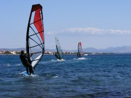 Windsurfing 2 by maymared