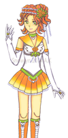 Sailor Cloudberry (Fruit Senshi) by Snowlyn