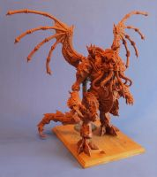 A Clockwork Cthulhu_Final Maquette by shaungent