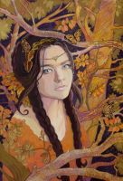 In the Autumn Forest by yanadhyana