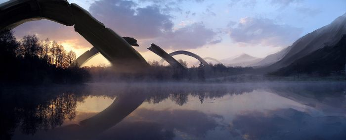lake concept by trainfender
